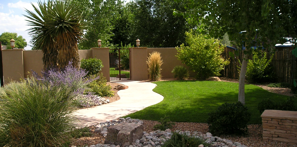 Landscaping designs in albuquerque pdf for New garden design