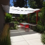 Mid Century Modern Landscape Design and Installation - Before and After Photos Albuquerque NM
