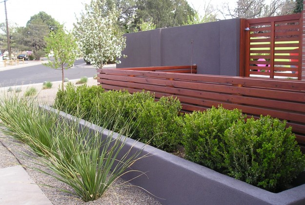 Mid Century Modern Red Twig Studio Landscape Design Architect