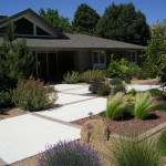 Altura Park Residence Landscape Design and Installation - Before and After Photos Albuquerque NM