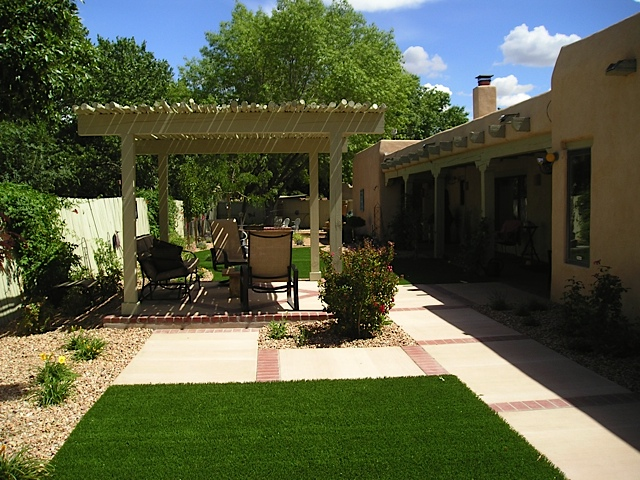 Xeriscape Landscape Design and Installation - Before and After Photos Albuquerque NM