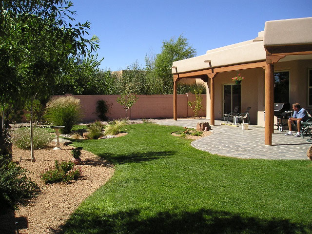Valley Residence Landscape Design and Installation - Before and After Photos