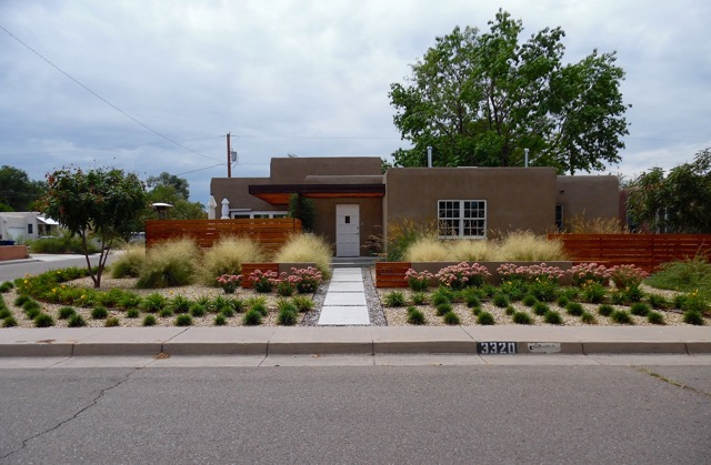 Wilway Modern Landscape Design and Installation - Before and After Photos Albuquerque NM