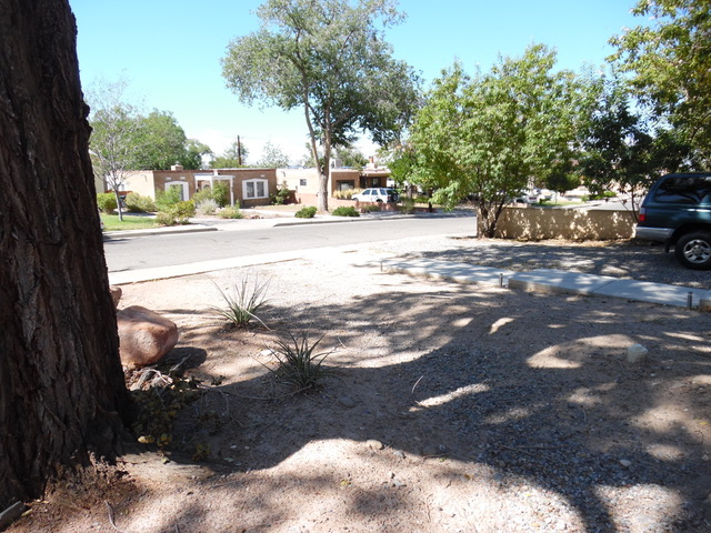 Nob Hill Landscape Design and Installation - Before and After Photos Albuquerque NM
