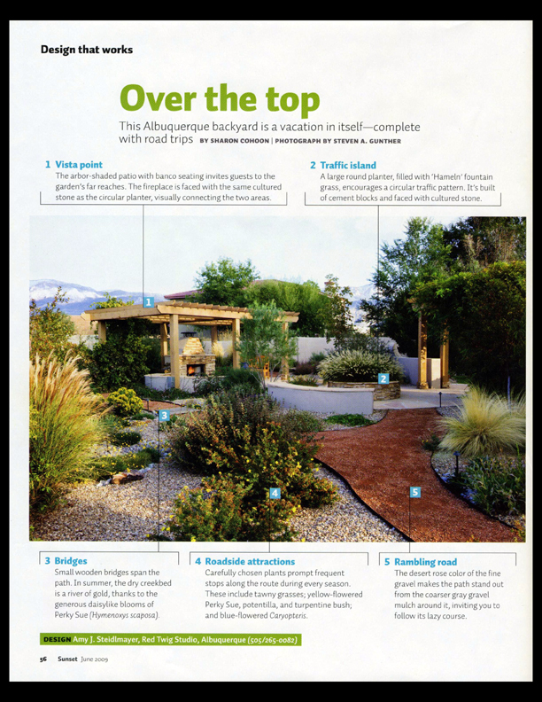 Red Twig Studio featured in Sunset Magazine